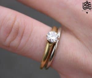 انگشتر طلا ساعتچی
