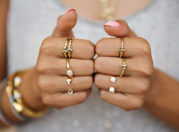 نشانه شناسی انگشت و انگشتر