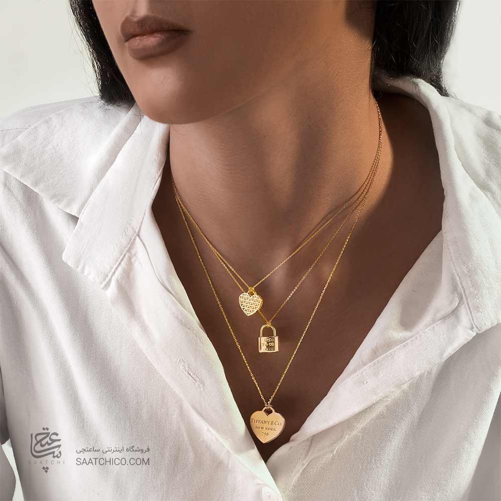 گردنبند طلا چند لایه از گالری ساعتچی