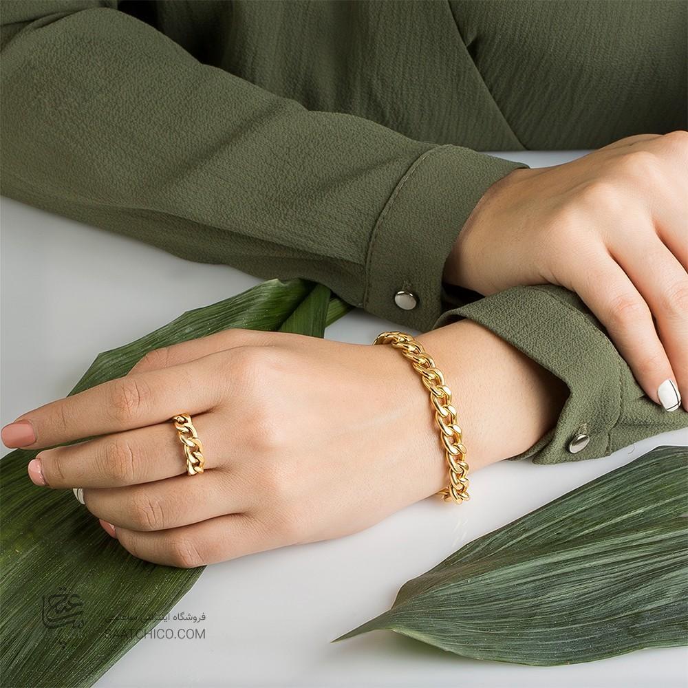 دستبند طلا زنانه کارتیه
