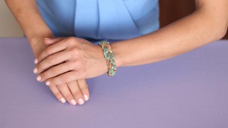انتخاب دستبند طلا برای فصل بهار