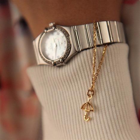 اویز ساعت طلا