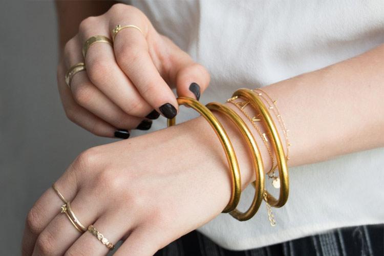 دستبند طلا هدیه