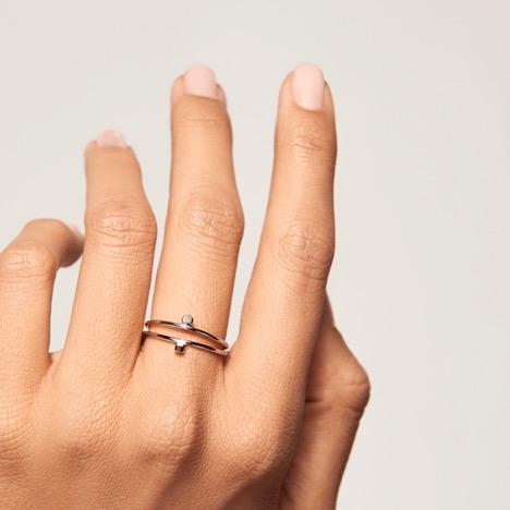 انگشتر طلا ۱۸ عیار