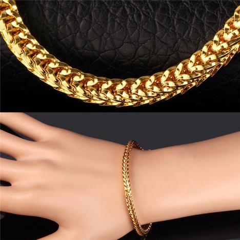 دستبند طلا زنانه