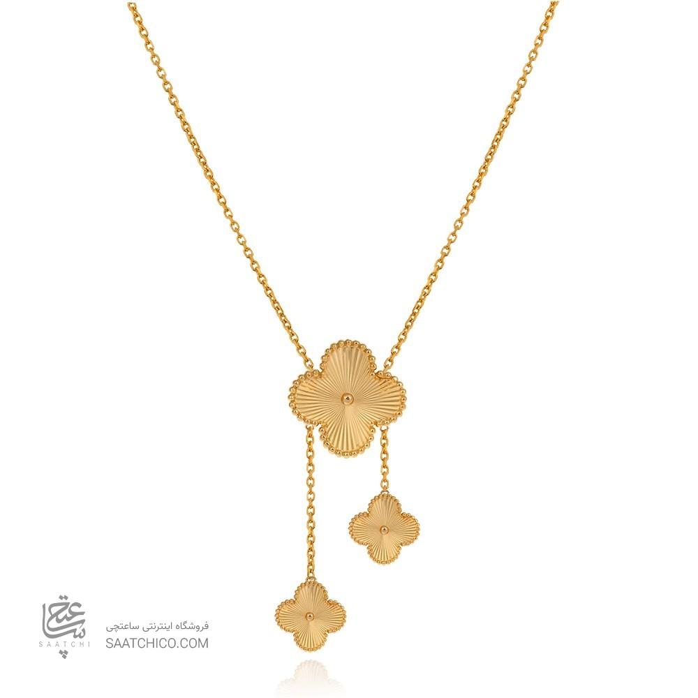 گردنبند طلا از کالکشن ونکلیف گالری ساعتچی