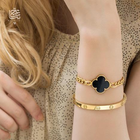 دستبند طلا ساعتچی