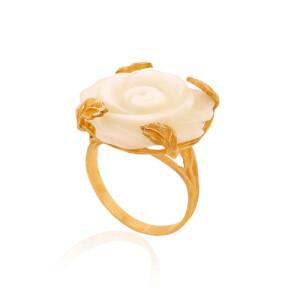 انگشتر طلا زنانه کد cr312