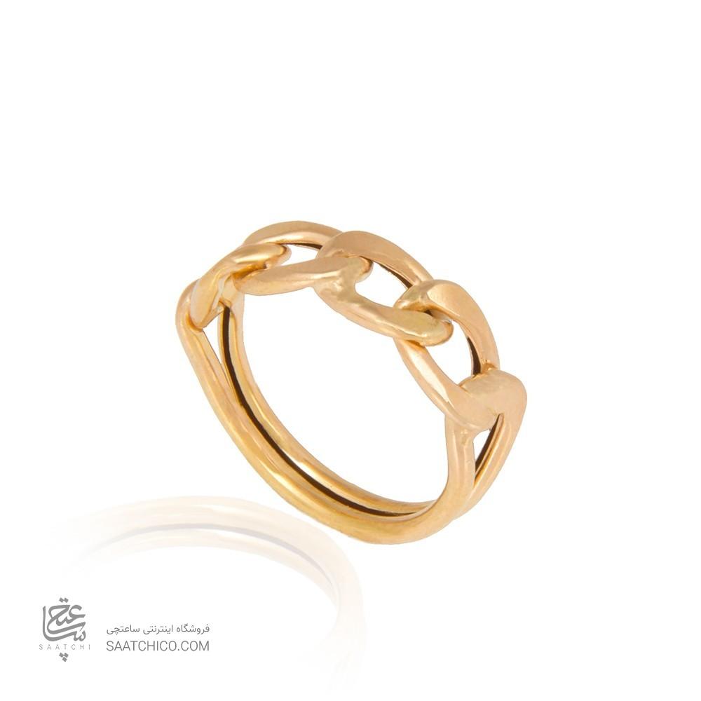 انگشتر طلا زنانه طرح کارتیه کد cr322
