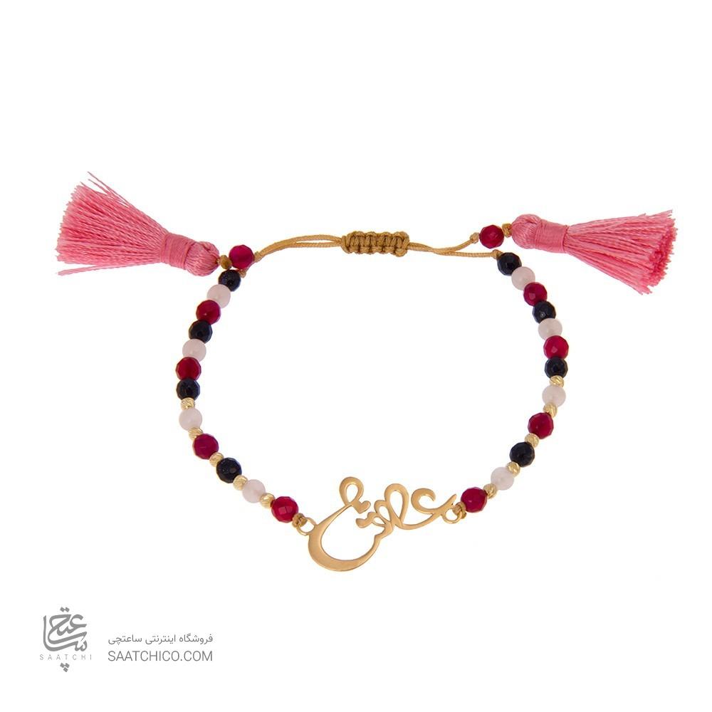 دستبند طلا زنانه طرح عشق ولنتاین کد xb803