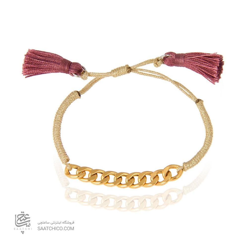 دستبند طلا زنانه زنجیر کارتیه کد xb820