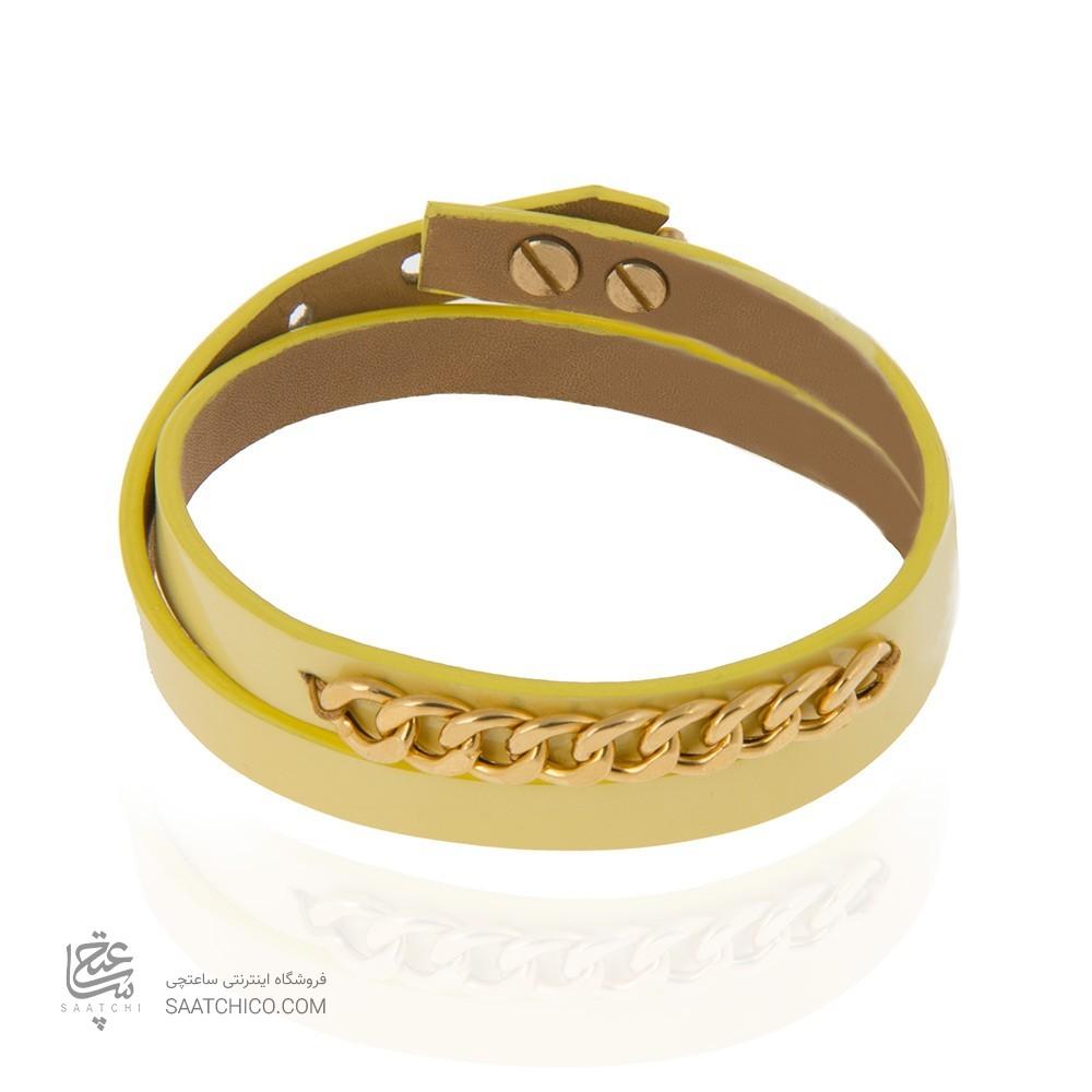 دستبند طلا زنانه زنجیر کارتیه کد xb845