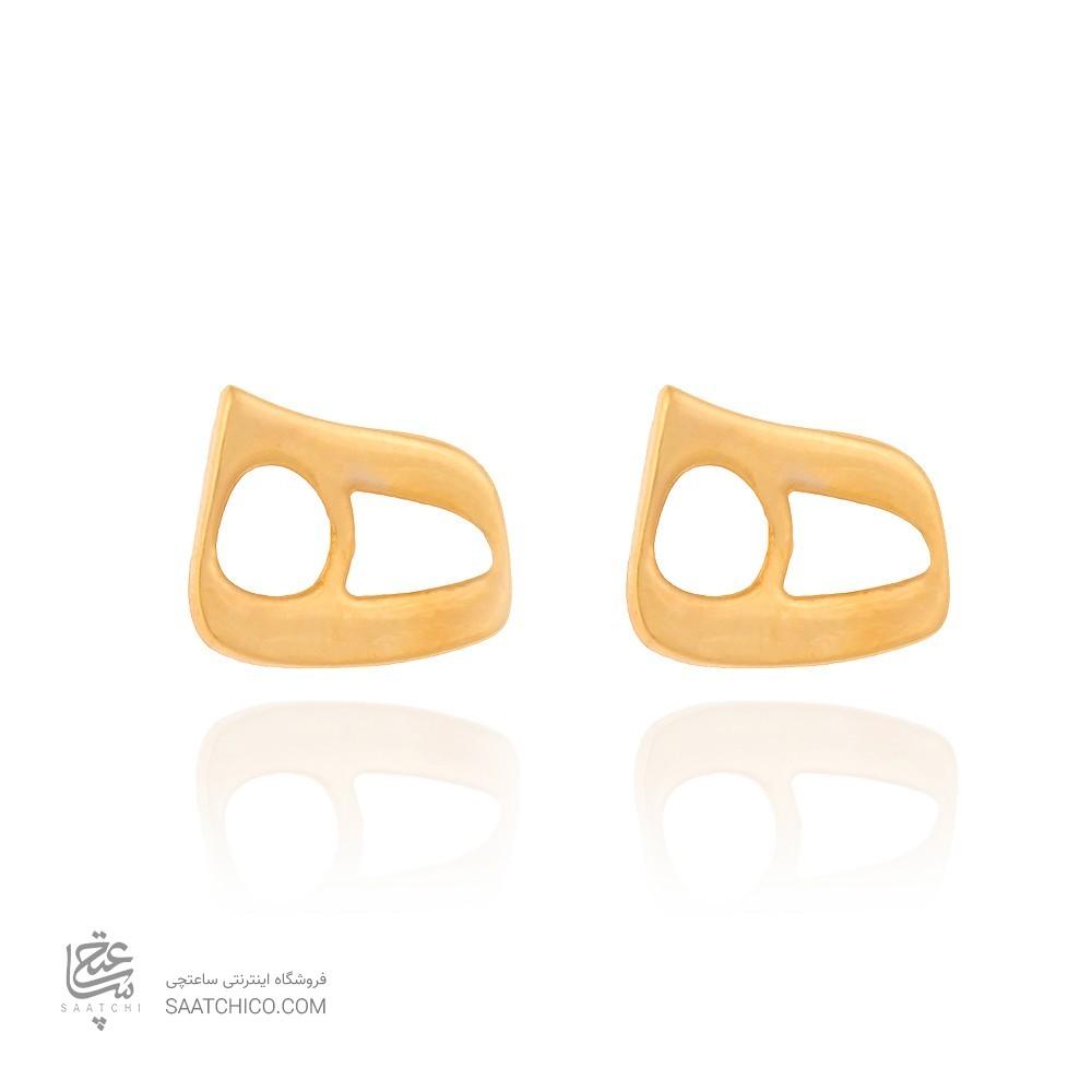 گوشواره طلا طرح نیمانی کد ce332
