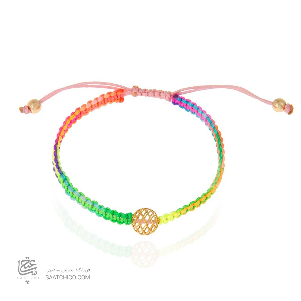 دستبند طلا زنانه باگوی فیوژن کد Xb861