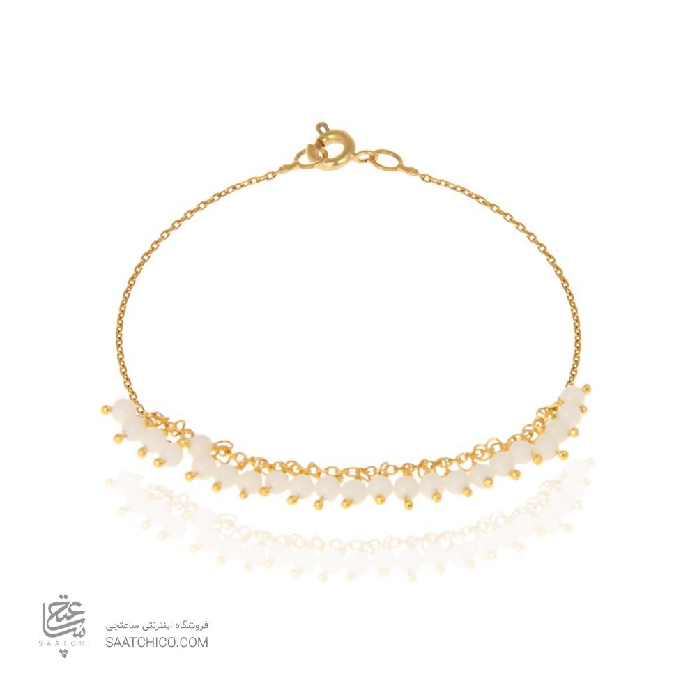 پابند طلا زنانه با سنگ کد XA103