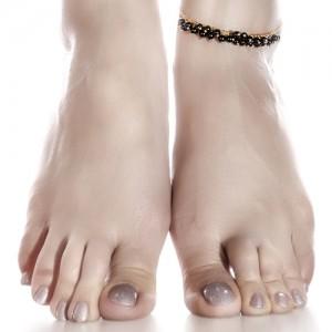 پابند طلا زنانه با سنگ کد xa108