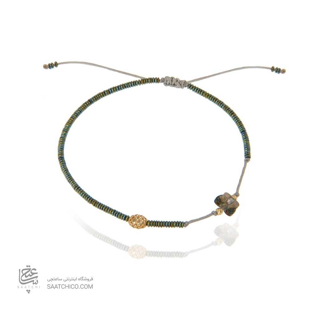 پابند طلا زنانه با گوی فیوژن کد XA111