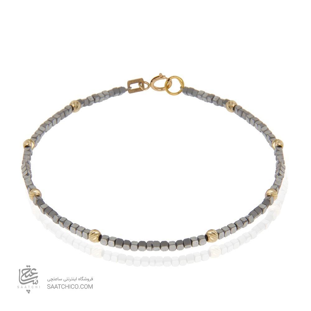 دستبند طلا زنانه با گوی البرنادو کد xb874