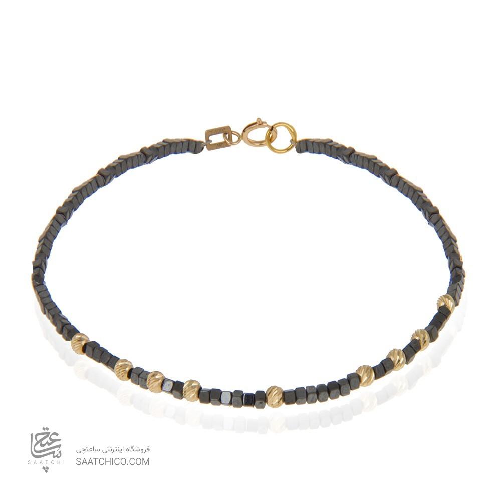 دستبند طلا زنانه با گوی البرنادو کد xb877
