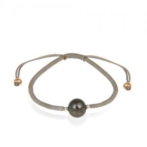 دستبند طلا زنانه با مروارید کد xb899