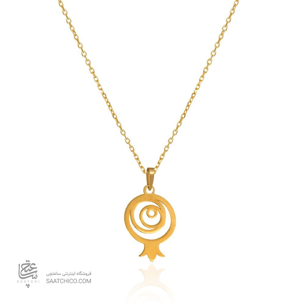 آویز طلا طرح انار یلدا کد LP617