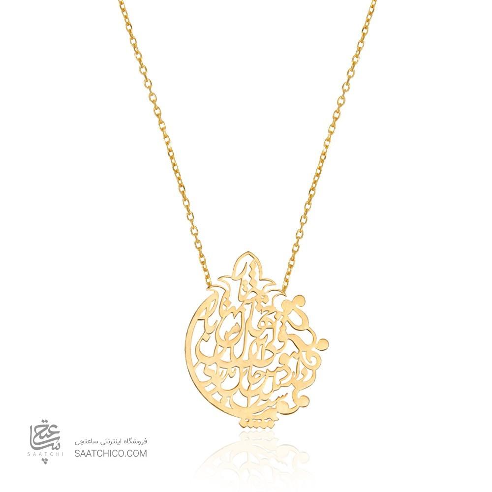 گردنبند طلای یلدایی کد LN810
