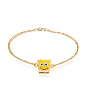 دستبند کودک طرح باب اسفنجی کد kb315