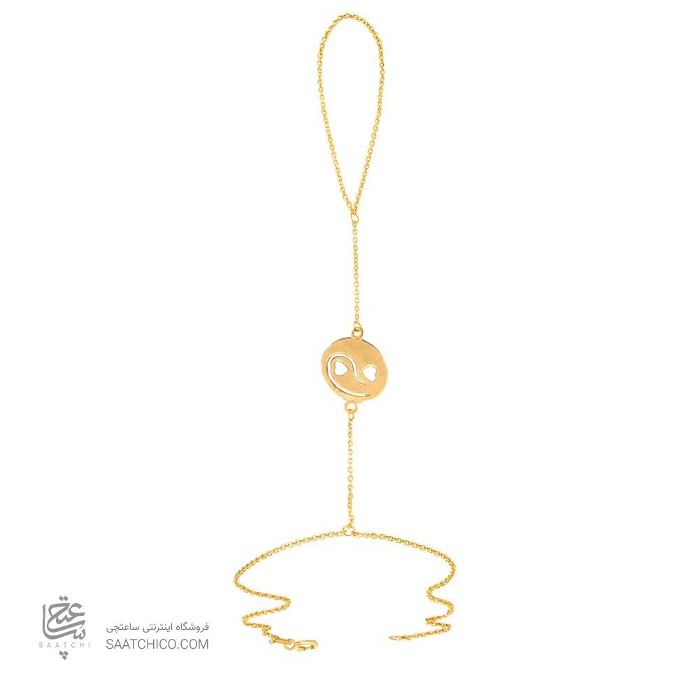 تمیمه طلا زنانه طرح  قلب کد lt406
