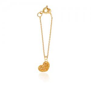 آویز ساعت طلا زنانه طرح قلب ولنتاین کد wp333