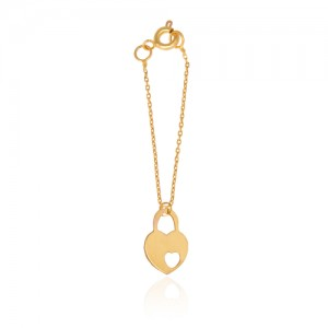 آویز ساعت طلا زنانه طرح عشق ولنتاین کد wp340