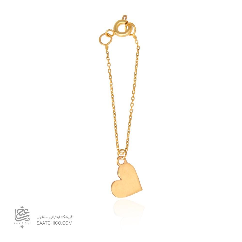 آویز ساعت طلا زنانه طرح قلب ولنتاین کد wp342