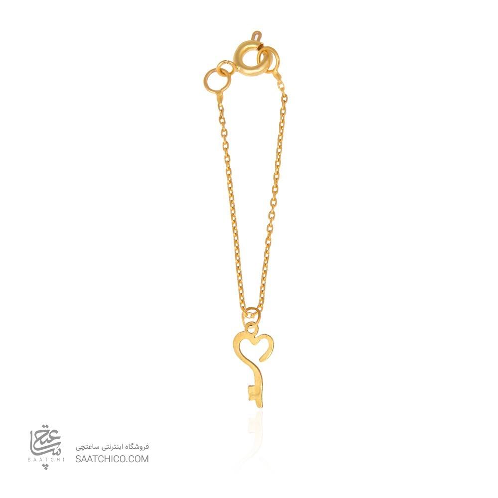 آویز ساعت طلا زنانه طرح عشق ولنتاین کد wp343