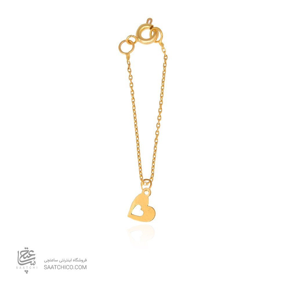 آویز ساعت طلا زنانه طرح عشق ولنتاین کد wp345