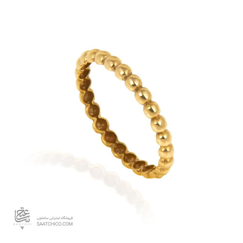 انگشتر طلا طرح گوارسه کد cr404