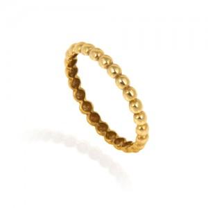 انگشتر طلا زنانه کد cr404