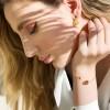 دستبند طلا النگویی کد cb349