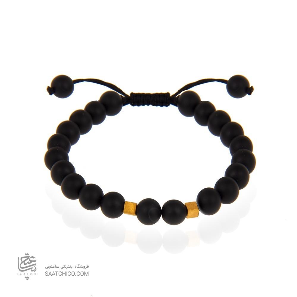 دستبند طلا مردانه کد mb105