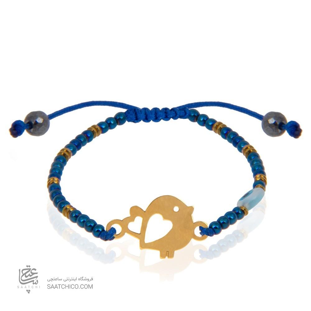 دستبند طلا کودک طرح جوجه کد kb333