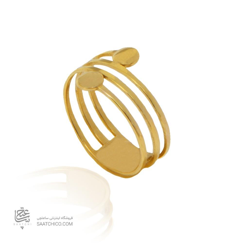 انگشتر طلا زنانه کد cr443