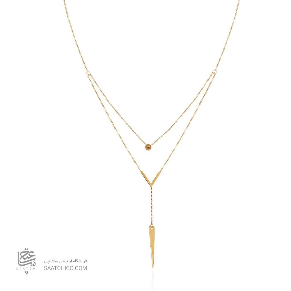 گردنبند طلا زنانه کد ln835