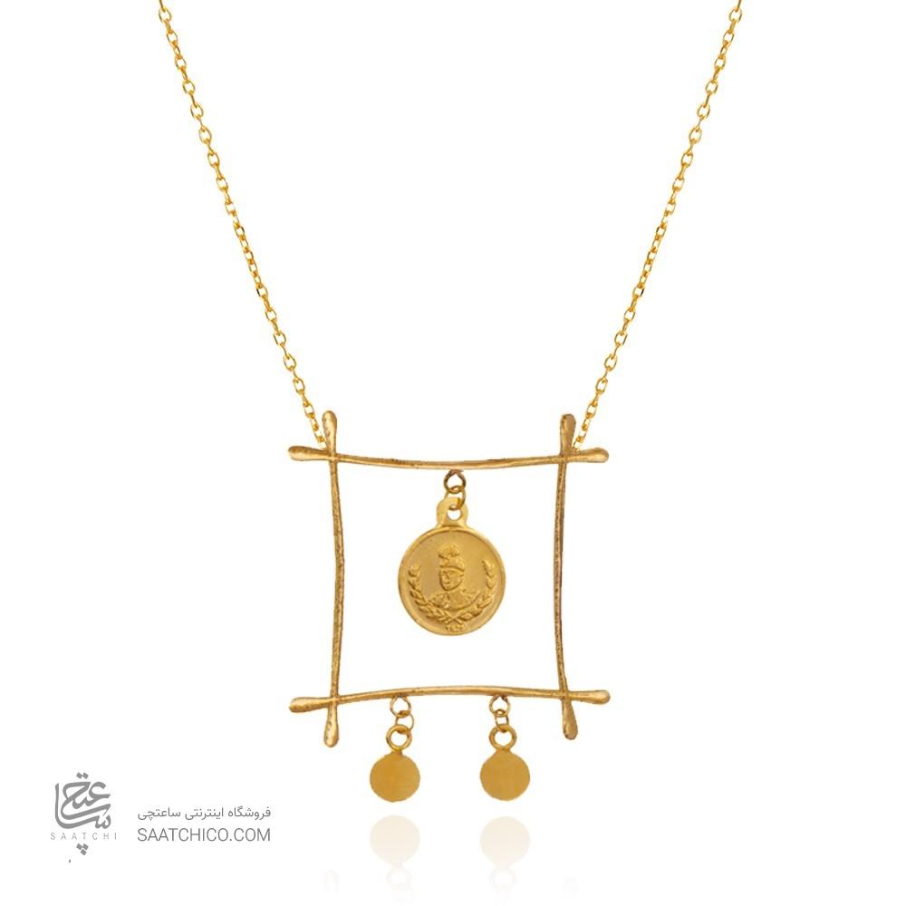 گردنبند طلا زنانه کد CN395