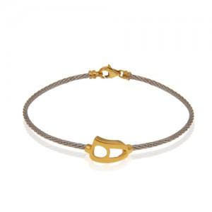 دستبند طلا فرد طرح نیمانی کد cb316