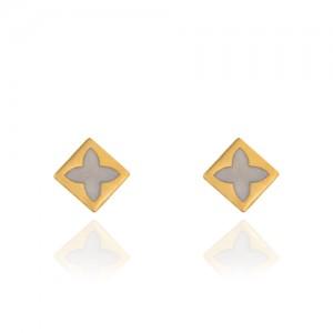 گوشواره طلا میناکاری کد CE350