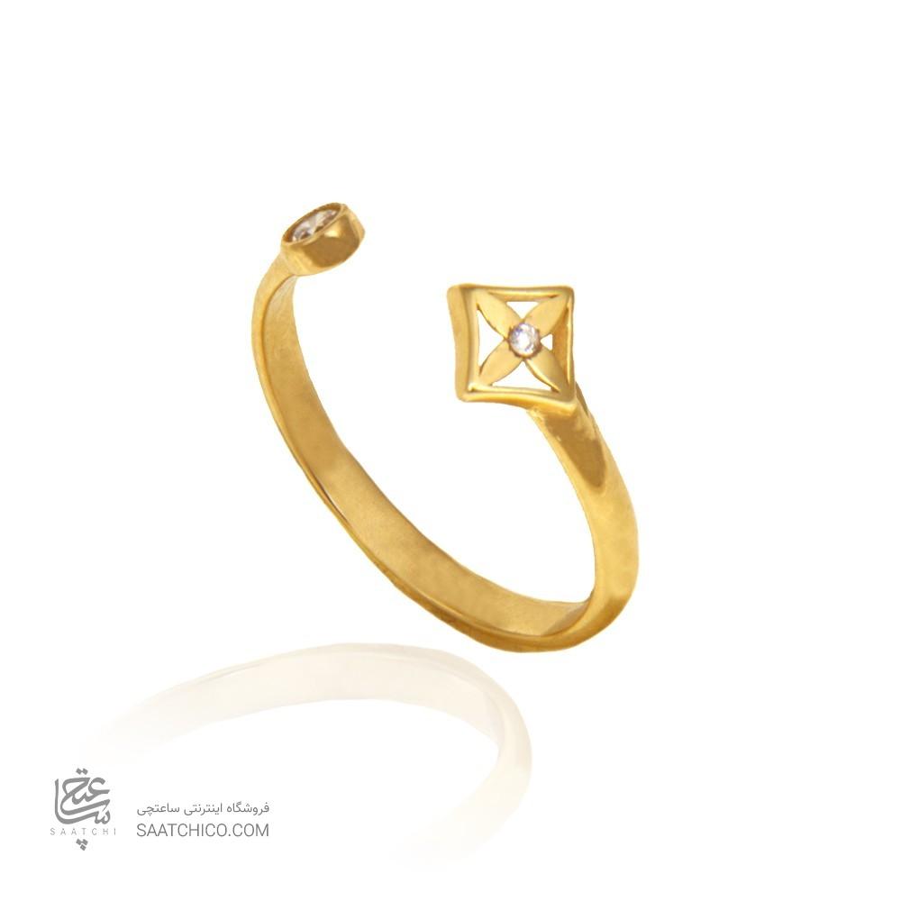 انگشتر طلا زنانه کد CR350