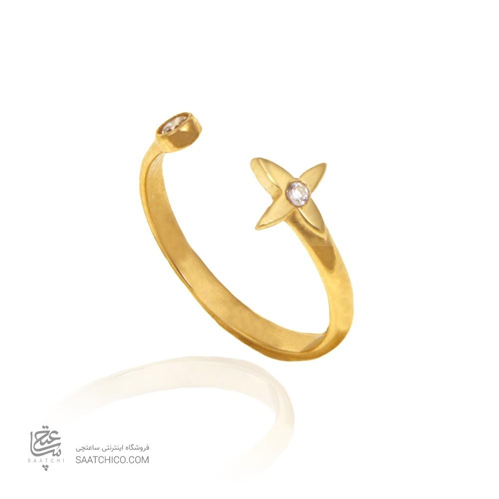 انگشتر طلا زنانه کد CR449