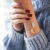 دستبند النگویی طلا کد CB373