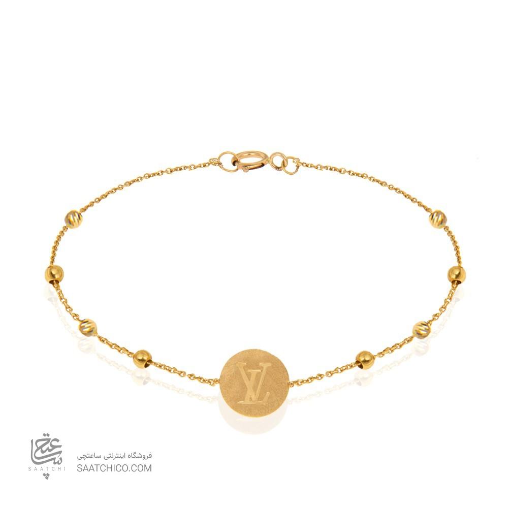 دستبند طلا زنانه کد LB108