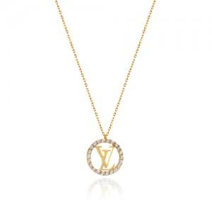 گردنبند طلا زنانه کد CN397