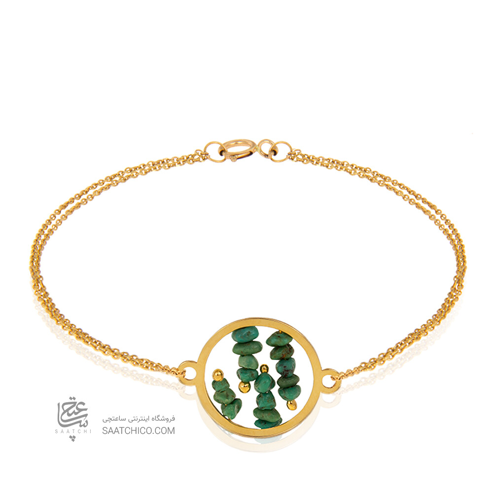 دستبند طلا کد CB379