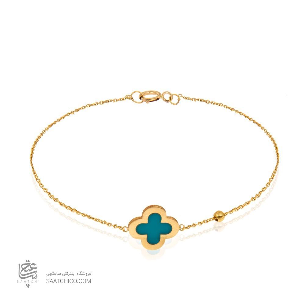 دستبند طلا زنانه کد cb375
